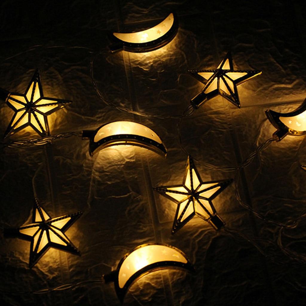 Flight Tracker Ramadan Und Eid Decor Lichter Led-leuchten Home Festival Party Festival Favor Nizza String Licht Translucidus Dekoration Wurf