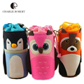 New Baby Insulation Bag Children Student Thermal Bag 3D Cartoon Milk Watter Thermos Baby Bottle Holders Storage Bags Insulation