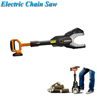 Electric Chain Saw 20V Lithium Battery 1350RPM/min 2.54 M/sec Scroll Saw Jig Saw Home Leisure Gardening Power Tools WG329E
