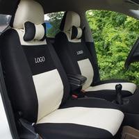 Universal car seat cover for lada 110 111 112 Kalina Niva sticker 5 seat car cushions car sticker accessories