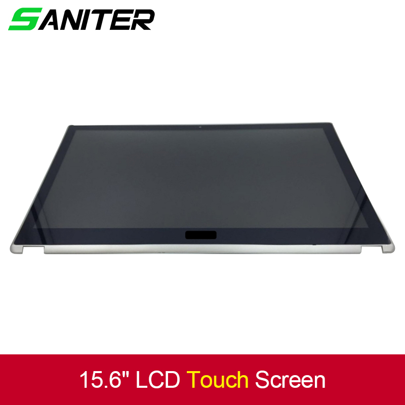 15.6 LCD Touch Screen Digitizer full Assembly Display hd For Acer Aspire V5-571 V5-571P V5-571PG 11 6 lcd assembly for acer aspire v5 122p v5 132p ms2377 lcd display touch screen digitizer with frame display panel