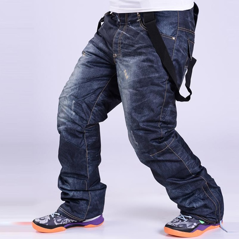 Newest High Quality Snowboard Pants For Men Waterproof Skiing And Snowboarding Snow Pant Breathable Ski Pants Jean Trousers