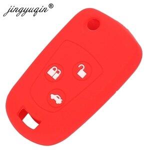 Image 2 - Jingyuqin 3 кнопки дистанционного управления, брелок силиконовый чехол для Ford Focus Mondeo Fiesta модифицированный чехол для ключа