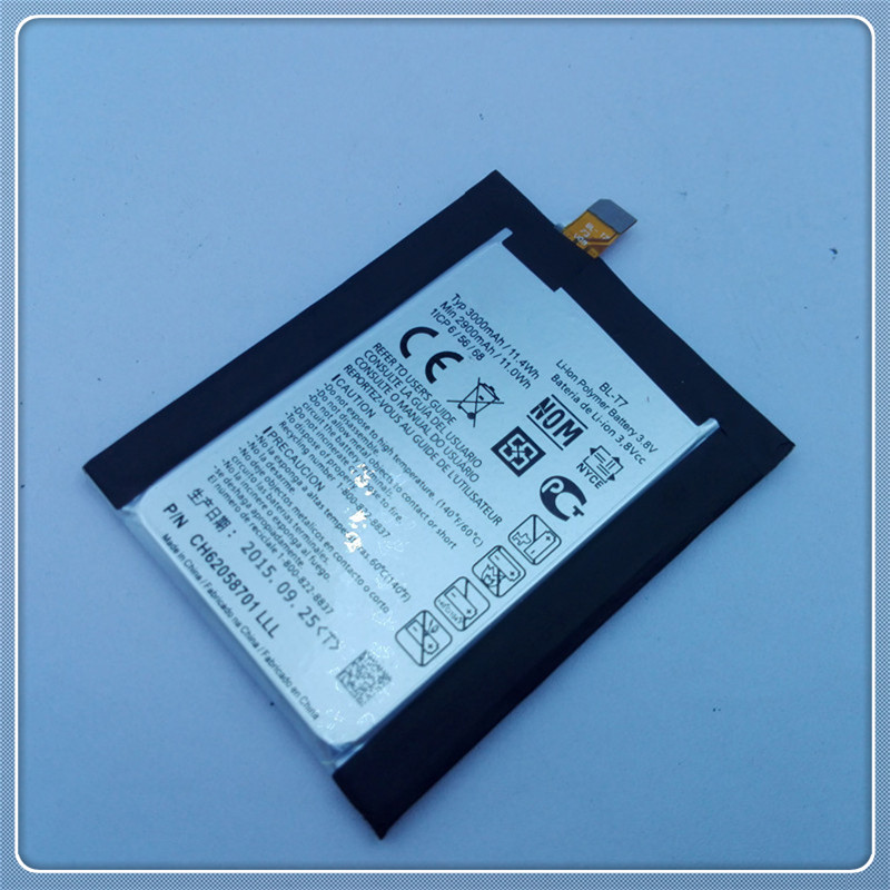 New The Original Mobile Phone Battery BL-T7 3000mAh For LG Optimus G2 D802 D800 D801 VS980 LS980 P693 D803