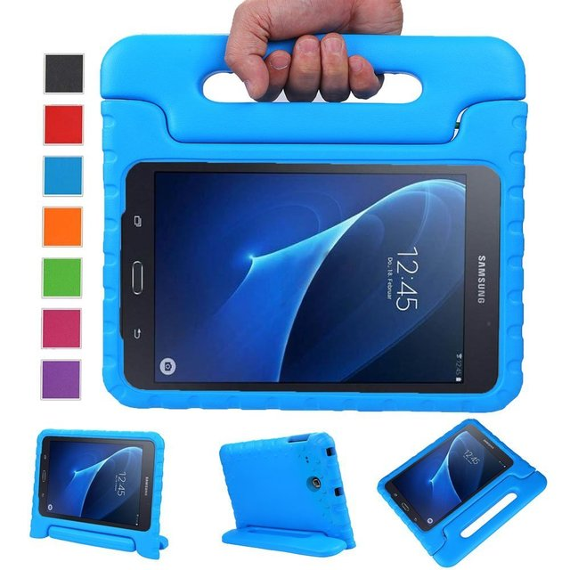 Light Weight Kids Case Super Protection Cover Handle Stand Case for Kids Children for 2016 Samsung Galaxy TAB A 7.0inch SM-T280