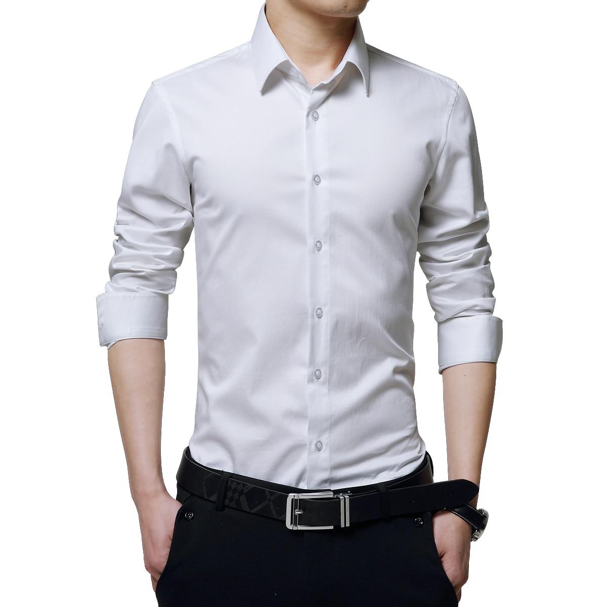 Aliexpress Buy Browon Brand Men Dress Shirts Mercerized Cotton