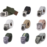 Hot Sell Men Brand Canvas Belts High Quality Male Strap Military Belt Men S Canvas Belt