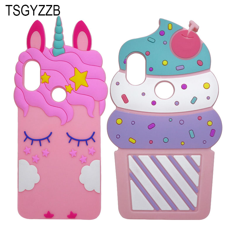 For Coque Xiaomi Redmi Note 5 Case Silicone 3D Unicorn Cat Cartoon Soft Phone Cases For Xiaomi Redmi Note 5 Pro Cover Case