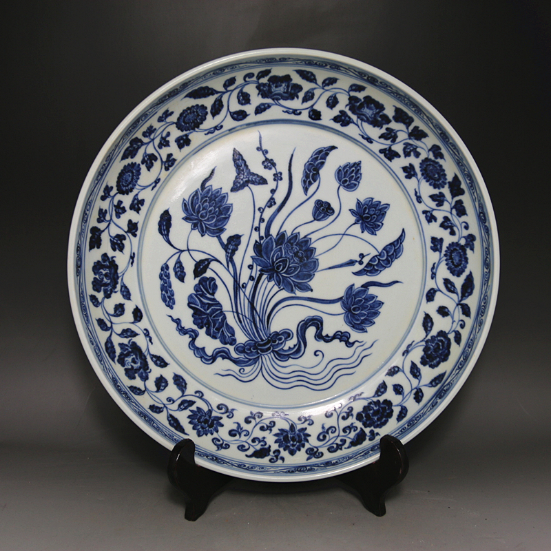Online Buy Wholesale Antique Porcelain Plate From China