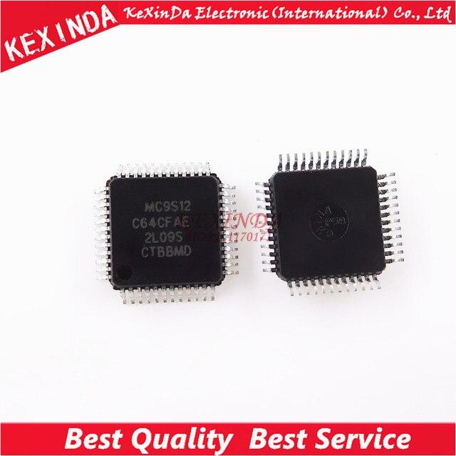 MC9S12C64 MC9S12C64CFAE 9S12C64 48 LQFP HCS12 IC 10 pz/lotto Trasporto libero