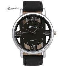 Fashion Luxury Women Men's Watches Leather Strap Analog Quartz Sports Wrist Watch Clock wholesale vF3