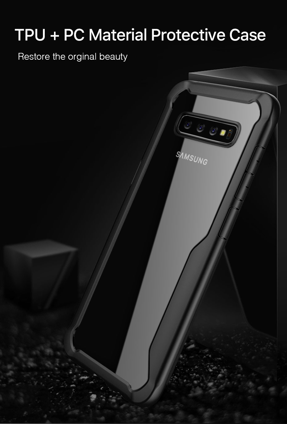 Samsung Galaxy S10 Plus Shockproof Rugged Armor Case