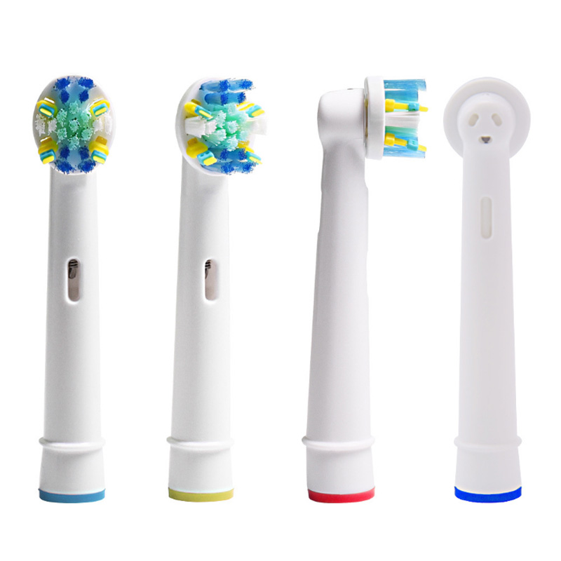 4x Replacement Brush Heads For Oral-B Electric Toothbrush Fit Advance Power/Pro Health/Triumph/3D Excel/Vitality Precision Clean image