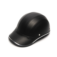 Motorcycle Helmet Bike Scooter Half Baseball Cap Style Safety Hard Hat Motocross Man Helmets Protection Shell New