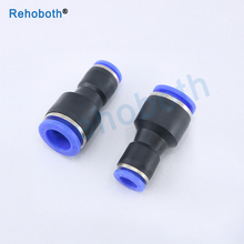 PG Pneumatic fittings 2-way Straight connector diameter reduce for 8mm-6mm 6mm-4mm