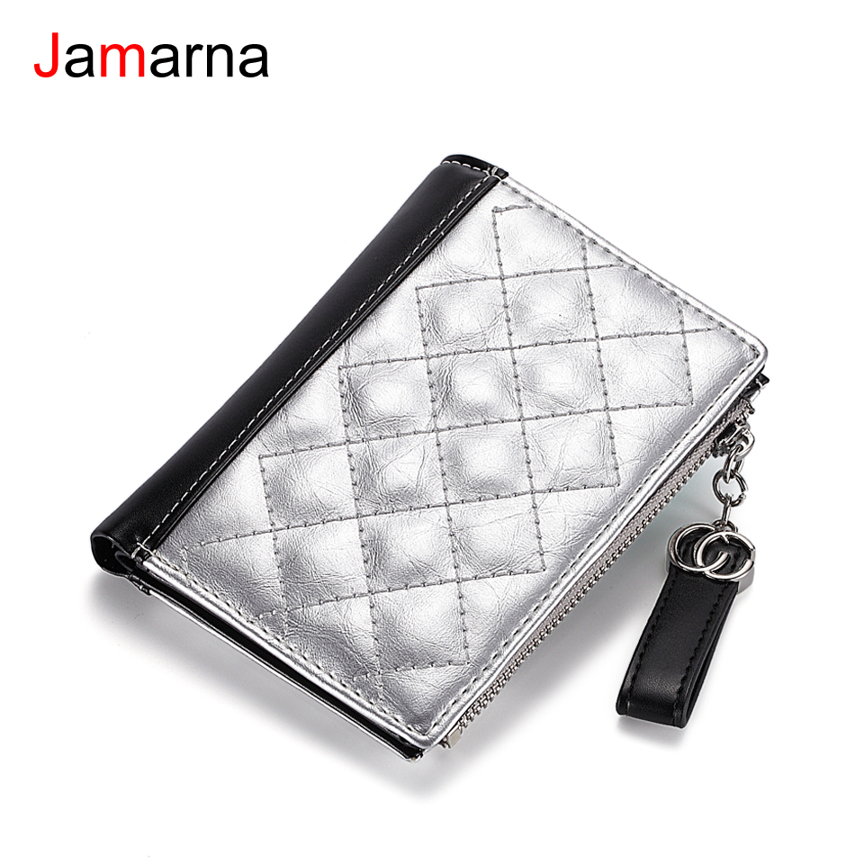 Jamarna Wallet Female Tassel Design Pu Leather Women Wallets With Zipper Coin Purse Women Credit Card Holder Small Wallet chiaro настольная лампа версаче 639030201