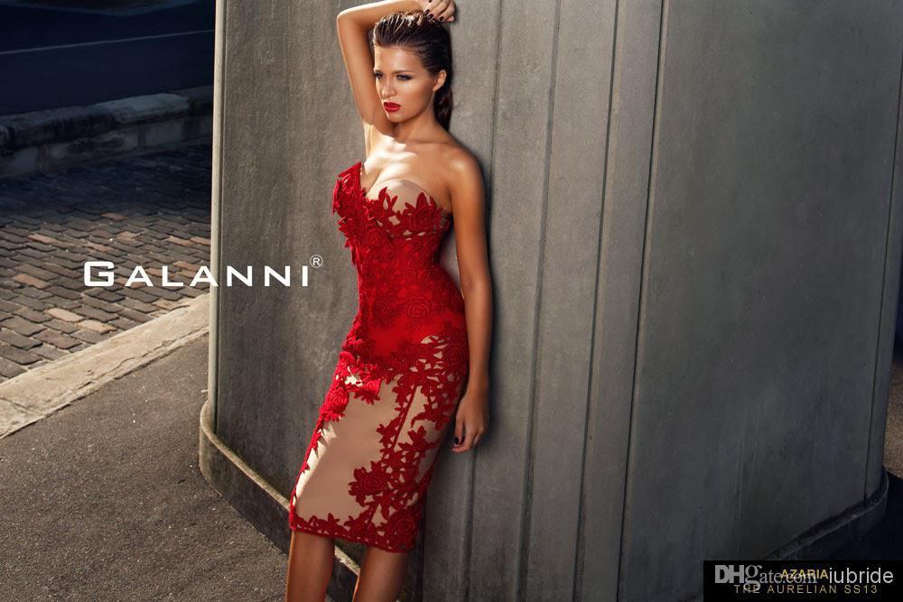 free shipping robe de soiree 2018 new arrival fashion sexy vestido de festa short red lace party elegant   bridesmaid     dresses