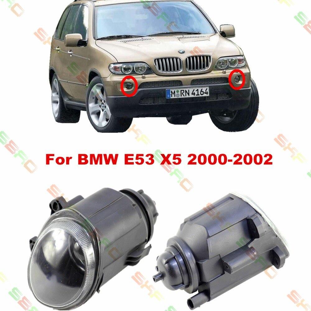 Для BMW Е53 Х5 2000/01/02 стайлинга автомобилей противотуманные фары 1 набор ламп