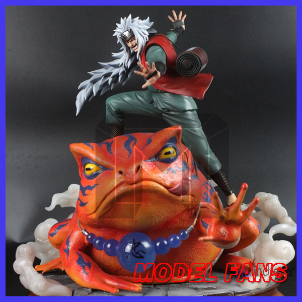 MODEL FANS presale NARUTO Jiraiya and Gama-Bunta GK resin made statue for Collection купить gama 1002 в минске