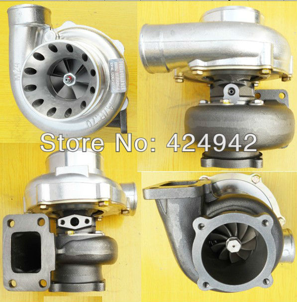 GT35 GT3582 T3T4  turbocharger A//R .63 rear AR .70 T3 flange oil turbo 5 bolts