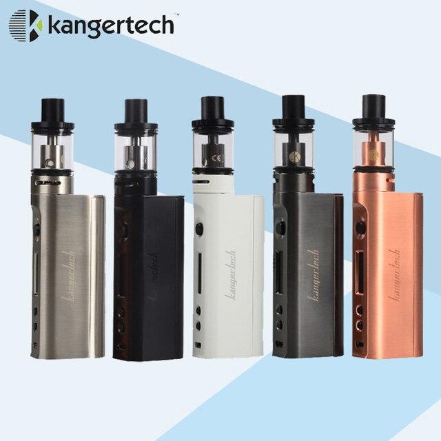 E электронная сигарета Kanger Subox Mini-C Starter Kit 50 Вт Subox мини C Box Mod Жидкостью Vape Protank 5 Форсунки 0.5ohm не батареи