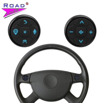 Universal Autoradio Car Steering Wheel Controller Wireless Remote Controls Button Car Remote Control For Stereo DVD GPS player image