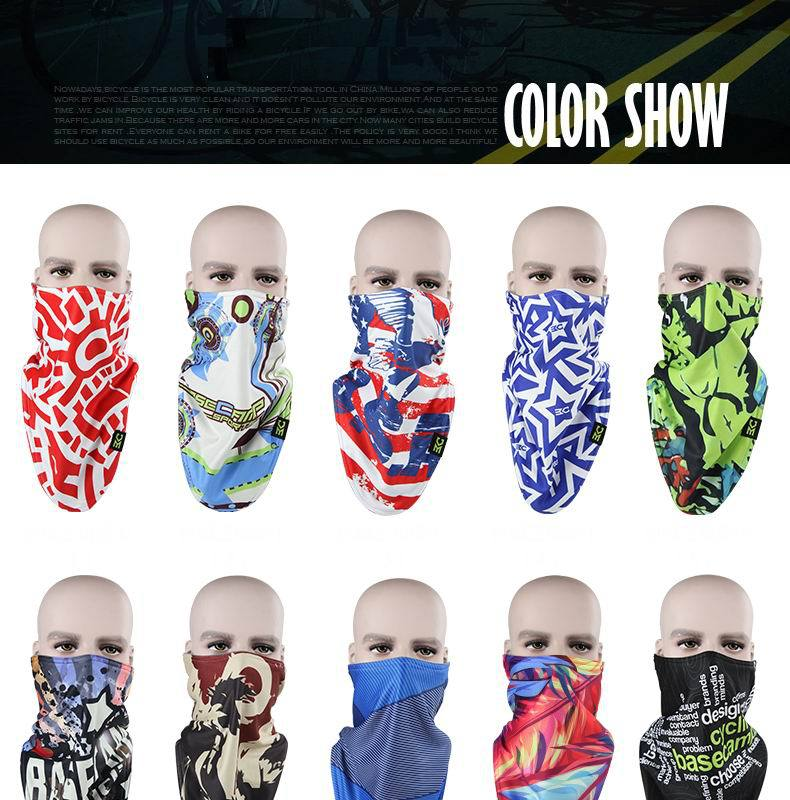 Ski Snowboard Motorcycle Cycling Headscarf Winter Warmer full Face Mask  Pirates 3D Printed Triangular Scarf Skiing Mask Bandana-in Skullies    Beanies from ... 8f469bd39116
