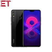 New Original Smart Phone Honor 8X Cellphone 4GB RAM 64GB ROM HiSilicon Kirin 710 Octa Core Fingerprint Recognition Android 8.1