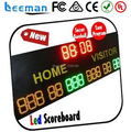 2017 led cricket digital scoreboard, digital scoreboard display time score scorer score outdoor led scoreboard with shot clock