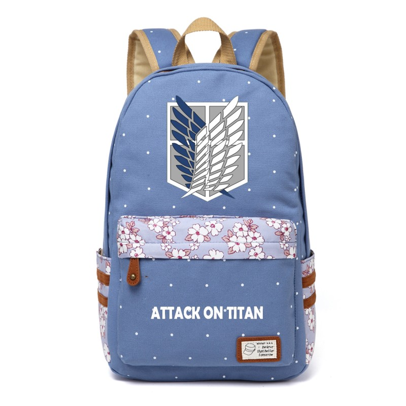 Attack on Titan Cute backpack for teenagers Girls