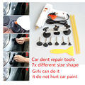 PDR Tools Paintless Dent Puller Remover Pulling Bridge Dent Removal Hand Tool For Car Dent Repair Tools set PDR Kits + glue gun