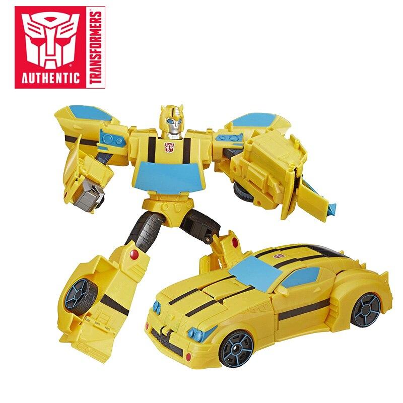 25 CM transformateurs jouets Optimus Prime Cyberverse ultime classe Action Figure répétable matrice méga tir attaque modèle bourdon