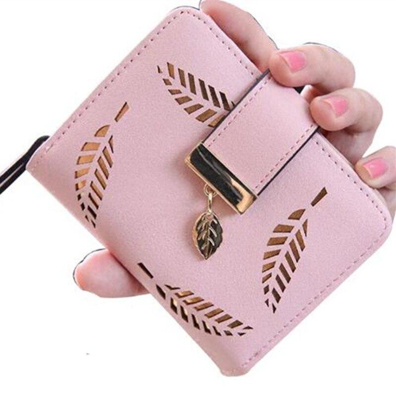 2317675db4b2 2 размера Дизайнер известная марка класса люкс Для женщин кошелек Женский  Малый walet cuzdan Perse portomonee портфель женские короткие Cartera