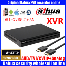 DAHUA New arriving DH-XVR5216AN Channel 1080P 1U Digital Video Recorder Support HDCVI/ AHD/TVI/CVBS/IP video inputs 1 SA