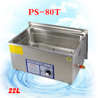 1PC PS 80T 480W Ultrasonic Cleaner for motherboard/circuit board/electronic parts/PBC plate ultrasonic cleaning machine