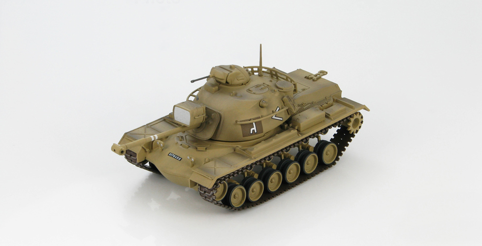 ФОТО HM 1:72 HG5503 M48A2 Patton tank model 7th Armored Brigade 2nd Battalion 1967 Static Simulation Model