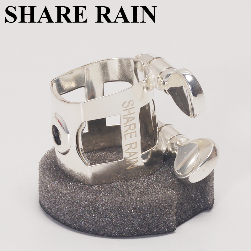 SHARE RAIN Eb alto metal Beechler mouthpiece appropriative metak ligature