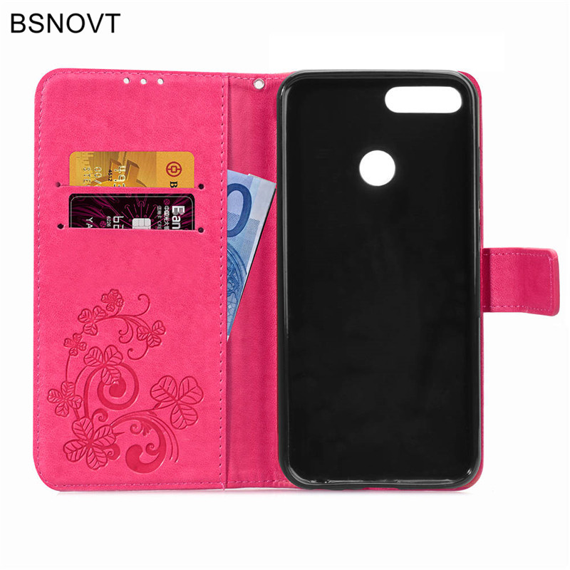 For Huawei Honor 9 Lite Case Soft Silicone Luxury PU Leather Phone Bag Case For Huawei Honor 9 Lite Cover For Honor 9 Lite Case in Flip Cases from Cellphones Telecommunications