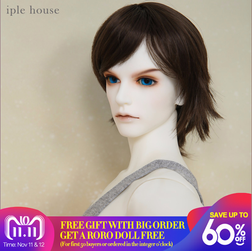 Iplehouse IP Eid Akando Man 1/3 BJD SD Body Model Boy Oueneifs High Quality Resin Toys For Girls Birthday Xmas Best Gifts new arrival iplehouse ip eid chase bjd sd doll 1 3 body model boys high quality toys for girls birthday xmas best gifts