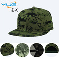 Camuflagem snapback tampões mulheres e homens bonés de beisebol de verão ao ar livre verde do exército