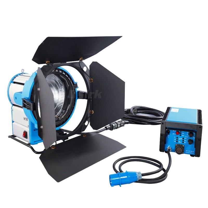 Pro M18 1200 W 1800 W luz HMI par luz con 575 W 1200 W 1800 W 300Hz alta velocidad Ballast Películas Iluminación 100% compatible ARRI