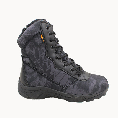Camouflage Outdoor Army Boots Men's Military Desert Tactical Boot Shoes Autumn Hiking Sport Work Shoes Mountain Climbing Shoes
