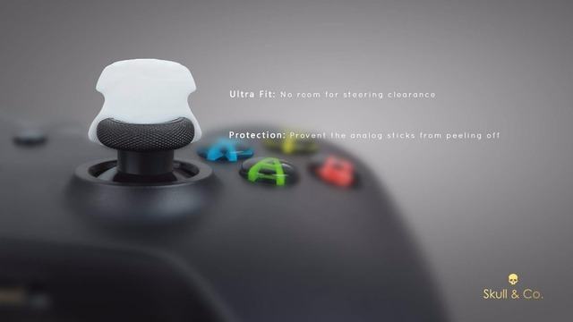 CQC Elite Thumb Grip Joystick Cap For Xbox One Controller  Master Thumbstick Cover For Xbox360 Gamepad