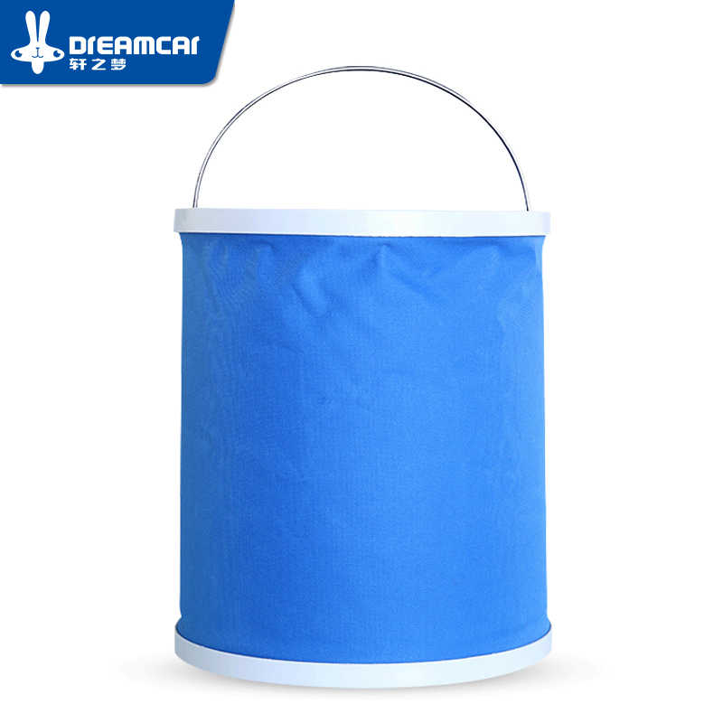 Foldable Water Bucket Outdoor Portable Car Wash Camping Fishing Cleaning Foldable Bucket Products Retractable Buckets