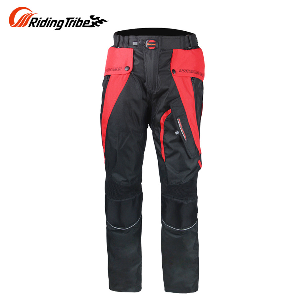 Riding Tribe  Motorcycle Winter Pants Motocross Off-Road Riding Pants Windproof Motorbike Pants Trousers with EVA Knee Guards
