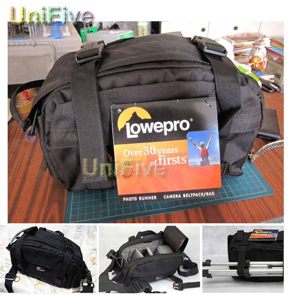Camera Dslr Camera Bags Review aliexpress com buy new waist pack genuine lowepro photo runner dslr waterproof camera bag beltpack shoulder waistpack for can