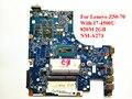 Para lenovo z50-70 placa madre del ordenador portátil con i7-4500u 820 m 2 gb nm-a273 rev: 1.0 ddr3 100% probado nave rápida