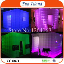 Free Shipping 4x4m Cheap Commercial  Inflatable PhotoBooth For Advertising Photo Booth Inflatable For Party