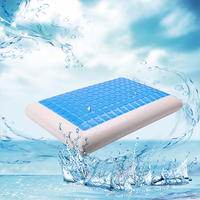 Summer Cooling Gel Memory Foam Pillow Pain Relief Orthopedic Neck Pillow 60x40cm