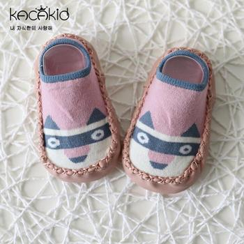 2019 Newborn Shoe Socks Baby Infant Anti Slip Socks Baby Boy Socks With Rubber Soles Baby Girl Socks Summer Wear GZ10 1